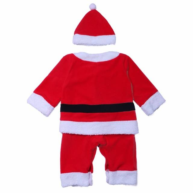 Children Christmas Costume Santa Baby Unisex