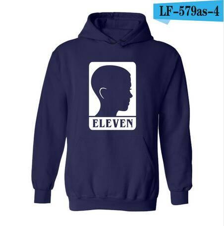 Stranger Things Multi Graphic Hoodie Sweatshirt
