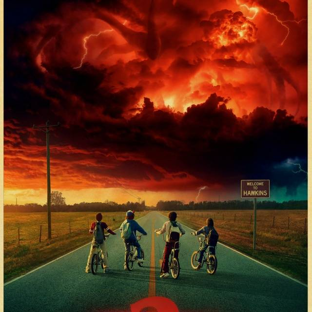 Stranger Things Classic Retro Vintage Poster Wall Decoration