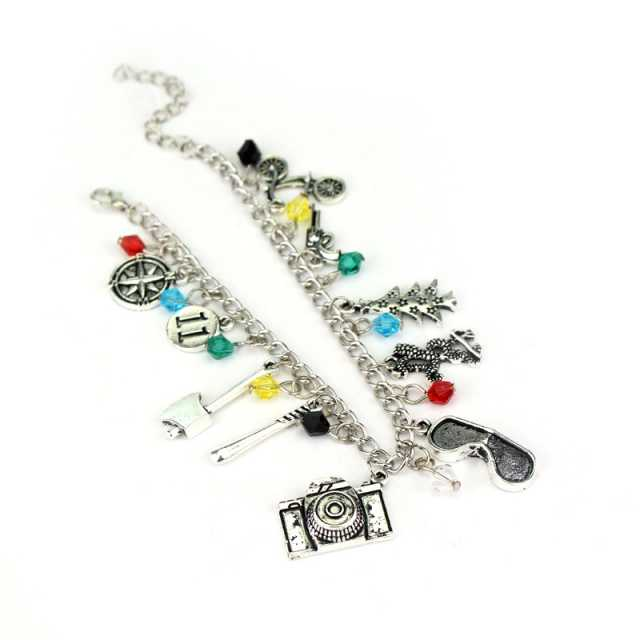 Stranger Things Charm Bracelet Crystal Beads Alloy Charms