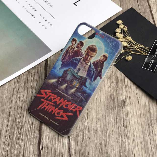 Stranger Things Case Cover Shell For Apple iPhone