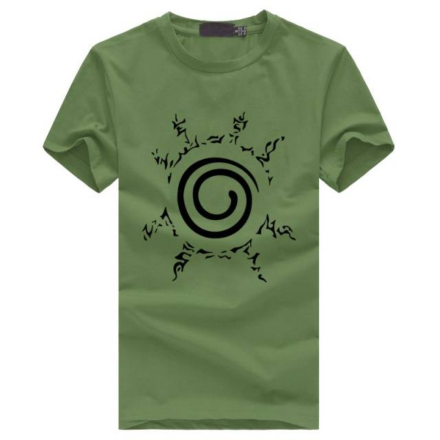 Anime Uzumaki Naruto Men's T-shirt