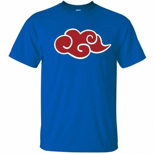 Anime Naruto Akatsuki Red Cloud T Shirt – 100% Cotton