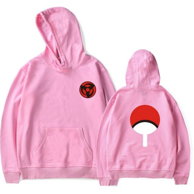 Naruto Uchiha Clan Syaringan Unisex Hooded Sweatshirt