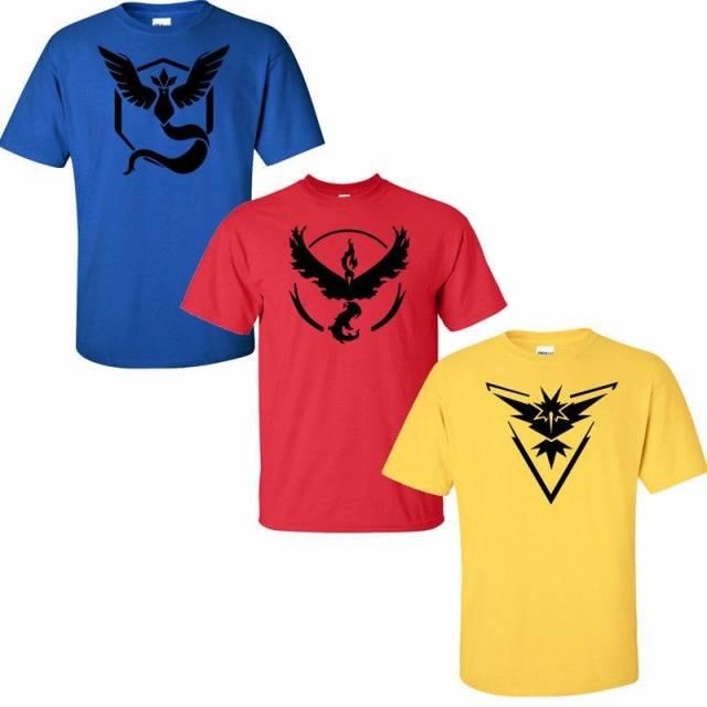 Pokemon Go Mens T Shirt Slim Fit Crew Neck