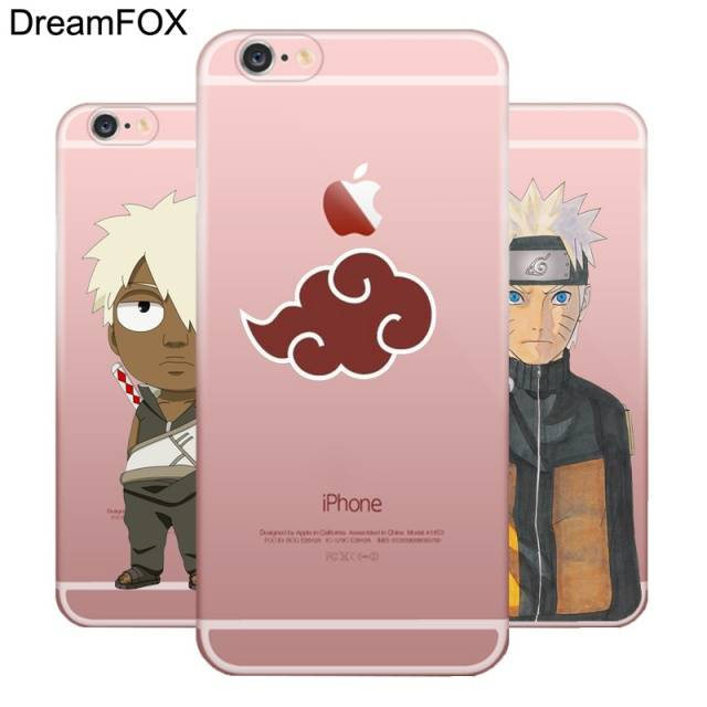 Anime Naruto Soft TPU Silicone Case Cover For Apple iPhone X 8 7 6 6S Plus 5 5S SE 5C 4 4S