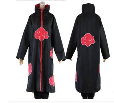 Anime Naruto Akatsuki Uchiha Itachi Cloak Cape