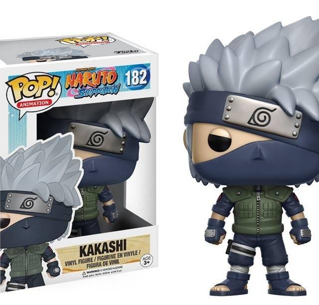 Official Funko Pop Kakashi Naruto Shippuden Vinyl Figure Collectible