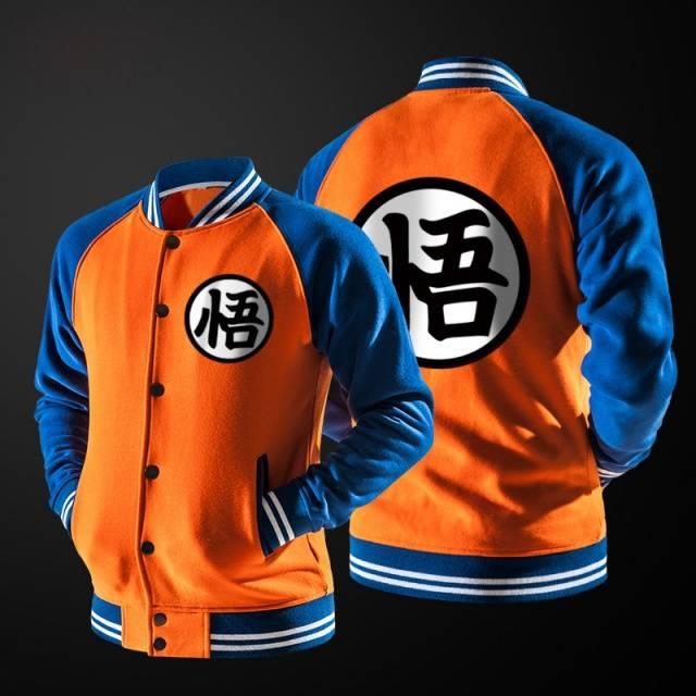 Dragon Ball Z Goku Bomber Jacket (3 color styles)
